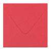 Envelop koraalrood- 15,6x11 cm