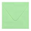 Envelop zachtgroen 14x14 cm