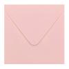 Envelop babyroze 14x14 cm