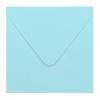Envelop babyblauw 14x14 cm