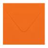 Envelop oranje 14x14 cm