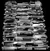 Schnitzmeisselset 10-teilig / 20 Funktionen