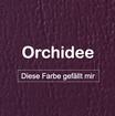 "MK-EXKLUSIVE orthopädische visco Hundematratze in ""Kunstleder-Orchidee"""