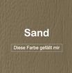 "MK-EXKLUSIVE orthopädische visco Hundematratze in ""Kunstleder-Sand"""