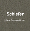 "MK-EXKLUSIVE orthopädische visco Hundematratze in ""Kunstleder-Schiefer"""