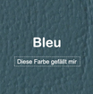 "MK-EXKLUSIVE orthopädische visco Hundematratze in ""Kunstleder-Bleu"""