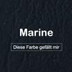 "MK-EXKLUSIVE orthopädische visco Hundematratze in ""Kunstleder-Marine"""