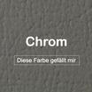 """MK-EXKLUSIVE orthopädische visco Hundematratze in """"Kunstleder-Chrom"""""""