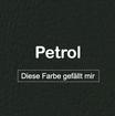 "MK-EXKLUSIVE orthopädische visco Hundematratze in ""Kunstleder-Petrol"""