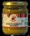 Caviar de courgette au basilic Bio