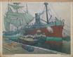 Frachtschiffe im Triester Hafen