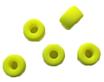 Hochwertige Glasperlen Neon Gelb/Perles neon jaune
