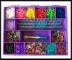 """Rainbow Loom® Geschenkset / Set cadeau """"Girls Lila"""""""