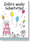 Endlich wieder Geburtstag!
