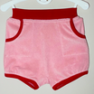 Frottee-Shorts 'Rosa/Rot'