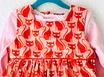 Trägerkleid 'Orange Taby Cat'