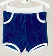 Frottee-Shorts 'Marine/Weiß'