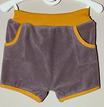 Frottee-Shorts 'Kamel/Ocker'