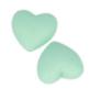 Cuori in Silicone Verde Cod. 21009034
