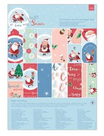 Blocco Die Cut & Paper Pack at Home with Santa 21x30cm Cod. PMA180963
