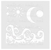 Stencil  Polkadoodles Magic Moon Cod. PD7907