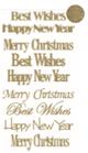 Stickers Glitter Christmas Artemio Cod. 11004562