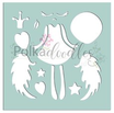 Stencil  Polkadoodles Creative Angel Cod. PD7533