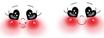 Testina in Legno Occhi  Cuore mm25 cod.866-255