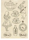 Set di Forme  Alice in Wonderland KLSP054