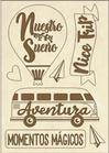 Set di Forme Avventura Stamperia KLSPA605