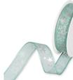 Nastro Stelle Verde Argento  574-157