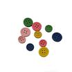 Bottoncini in Legno Colorati 10pz