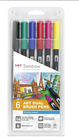 Set 6 pz Dual Brush Tombow Primari