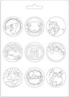 Texture Stamperia Cod. K3PTA525