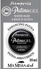 Patina Gel Antracite 25ml Stamperia Cod K3P54G