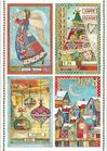 Carta Riso A4 Stamperia DFSA4408