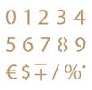 Stencil Decò Numeri cod. 0002398