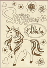 Set di Forme Unicorno Stamperia KLSPA604