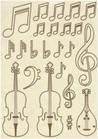 Set di Forme Violini