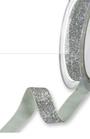 Nastro Glitter Argento 18mm 24046-211