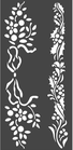 Stencil Spesso Stamperia  Let It Snow KSTDL37