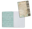 Notebook A6 Music Stamperia Cod. ENBA6012