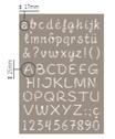 Stencil Alfabeto Artemio Cod. 15050027
