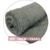 Tessuto Fluffy Creattiva Grigio Chiaro