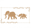 Stencil Decò Elefante Cod. 0002164