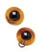 Occhi per pupazzi 14mm Ambra Cod. 743-051