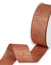 Nastro Lurex Cognac Oro 35mm 5755-95