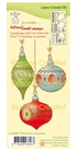 Timbro in Silicone CHristmas Ornaments LeCreaDesign Cod. 55.6067