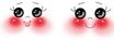 Testina in Legno Occhi Tondi mm35 cod.866-353