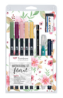 Set Watercoloring Floral Dual Brush Tombow WCS-FL